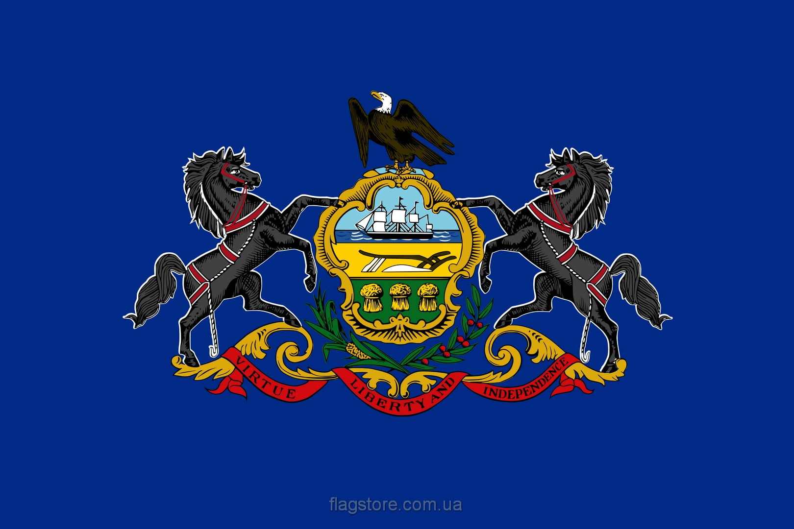 Купить флаг Пенсильвании (штата Пенсильвания)