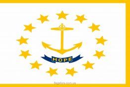 Купити прапор Род-Айленду (штату Род-Айленд)