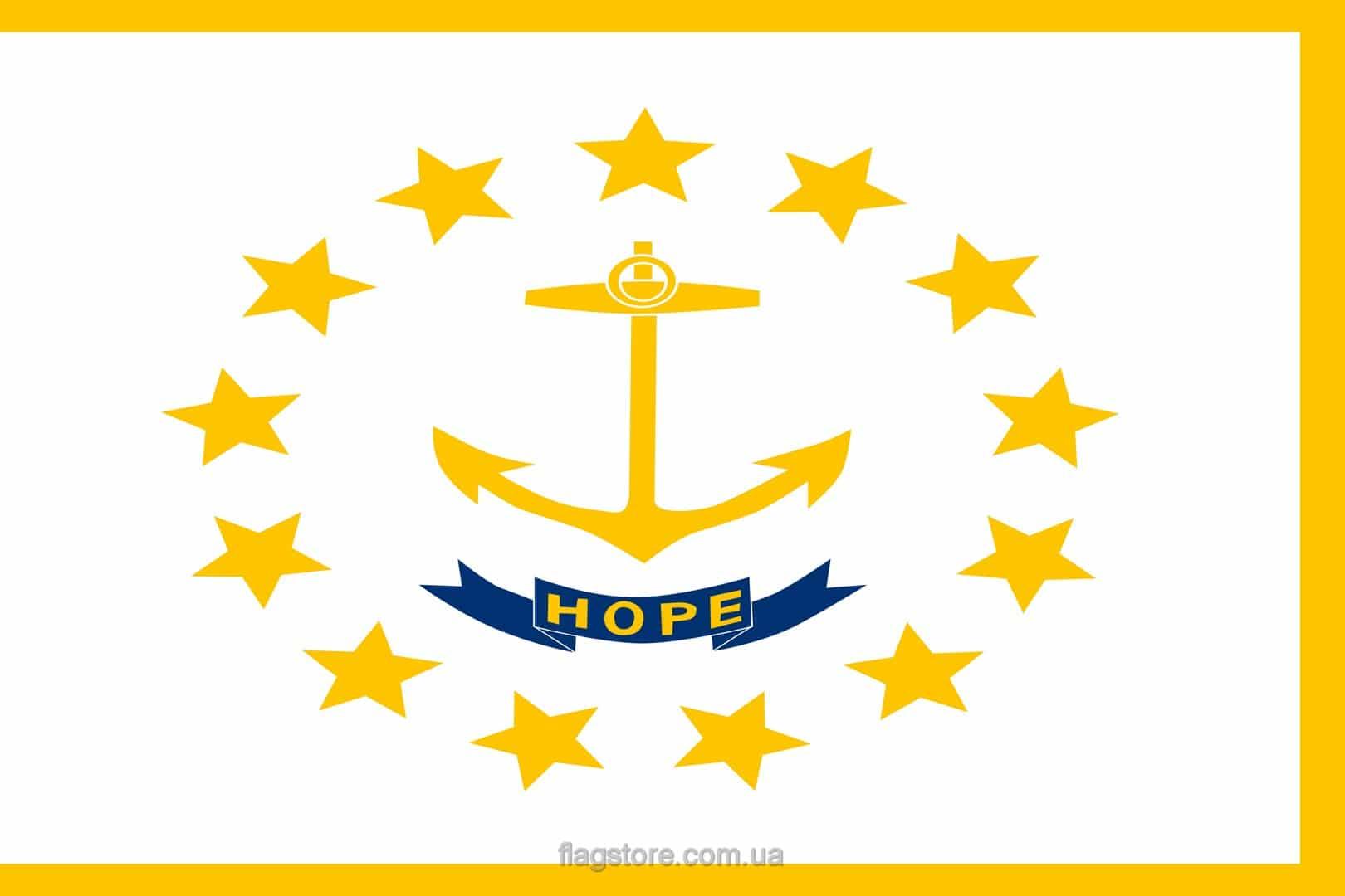Купить флаг Род-Айленда (штата Род-Айленд)