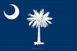 Купити прапор Південної Кароліни (штату Південна Кароліна)
