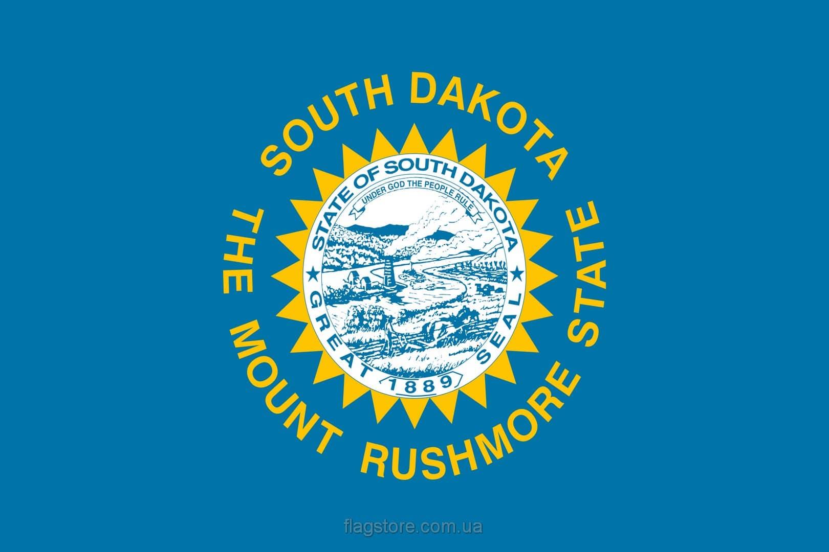 Купить флаг Южной Дакоты (штата Южная Дакота)