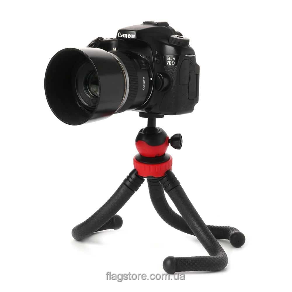 Гибкий трипод для камеры до 1.2 кг – 30 см (L-4) 6
