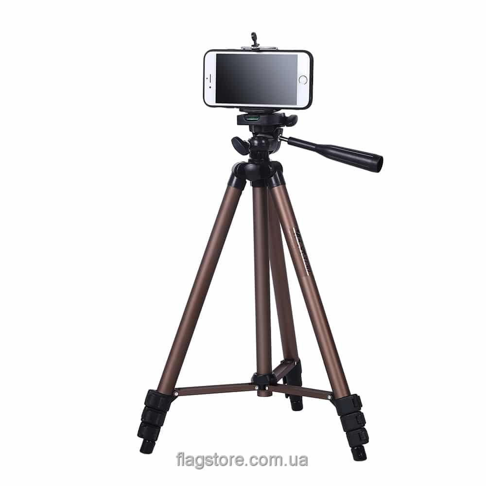 Телескопический штатив для устройств до 2.5 кг – 125 см 2