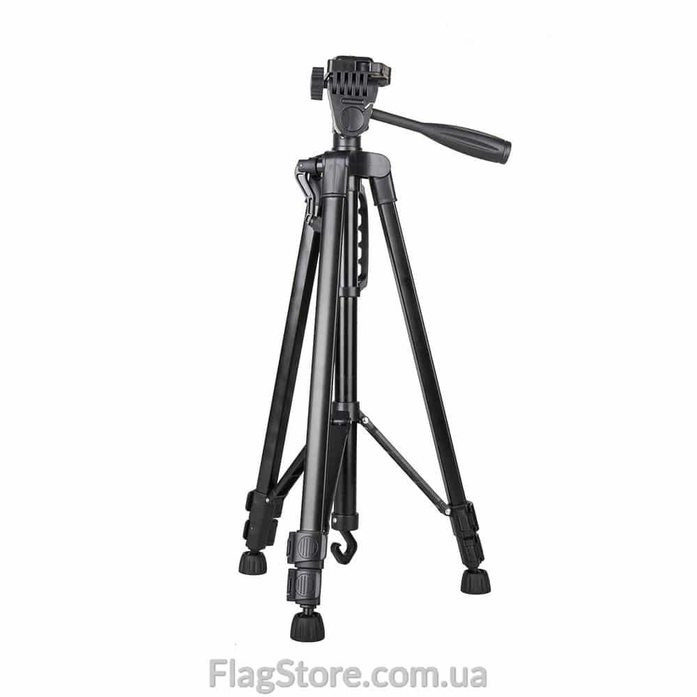 Телескопический штатив для фотоаппарата до 5 кг – 140 см 1