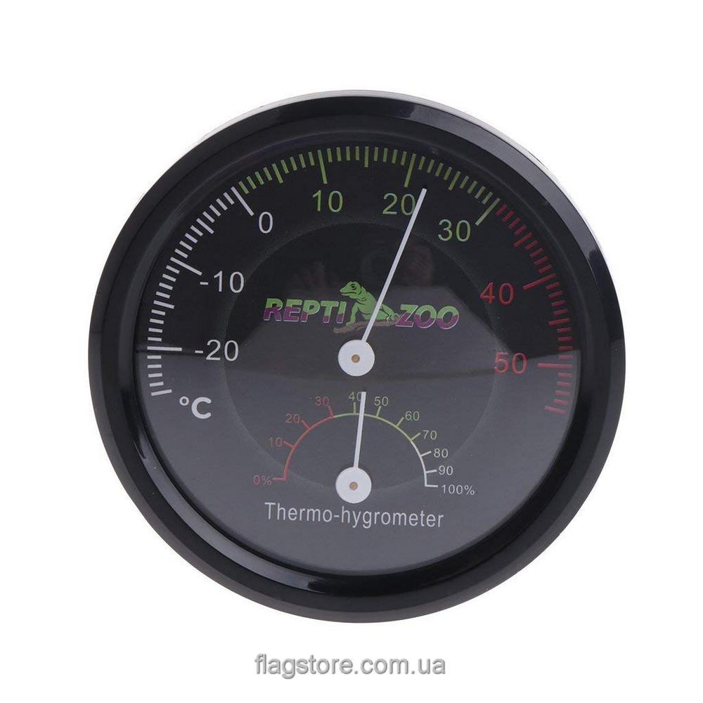 Аналоговый термометр-гигрометр в террариум 1