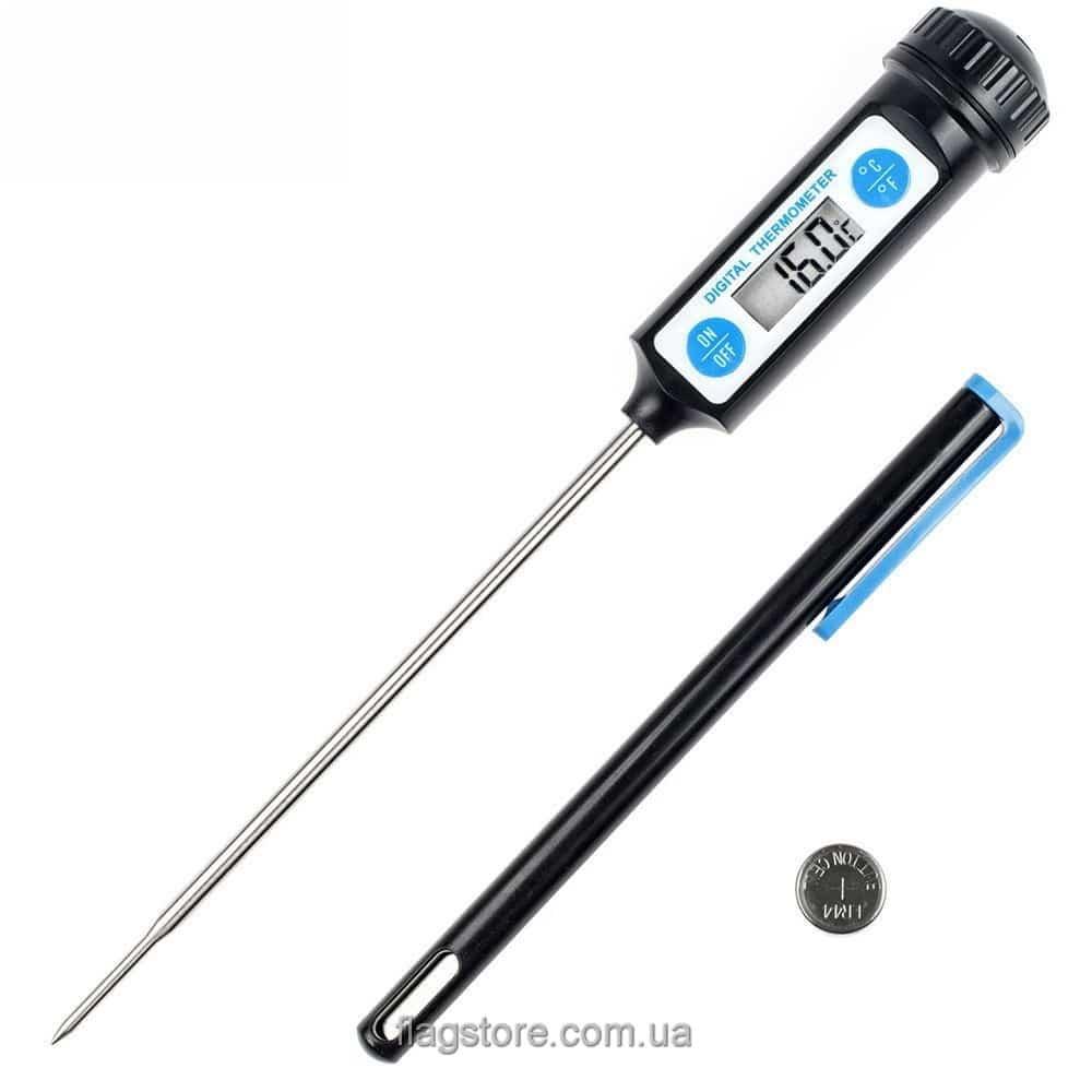 Быстрый цифровой термометр для мяса и жидкостей (от -50 до 300 °C) 1