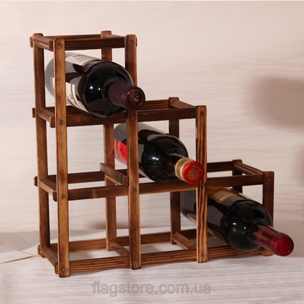 Стенд для 6 бутылок вина 2
