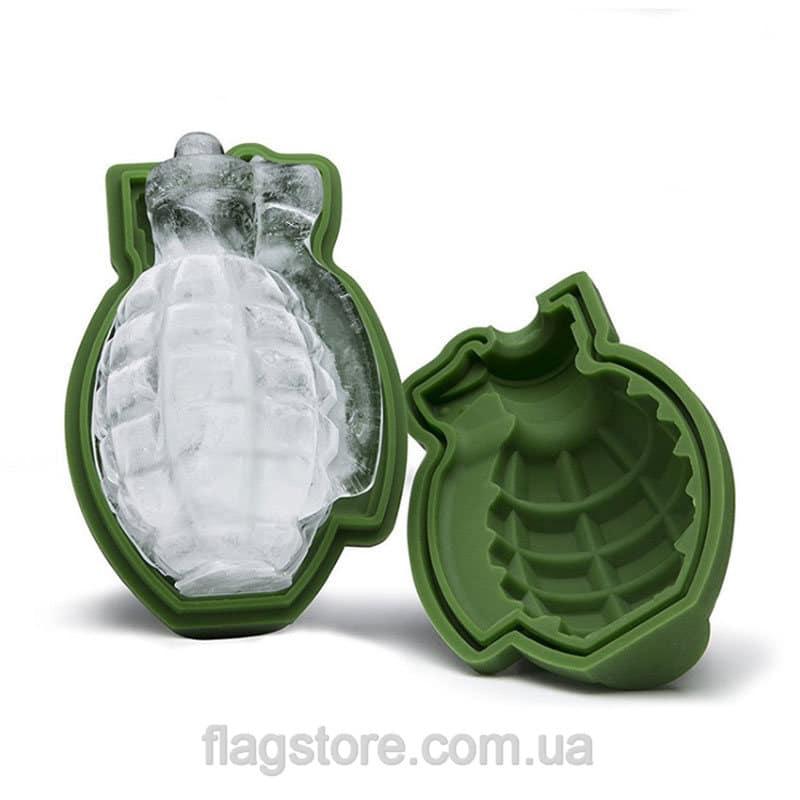 Форма для льда в виде ручной гранаты 1