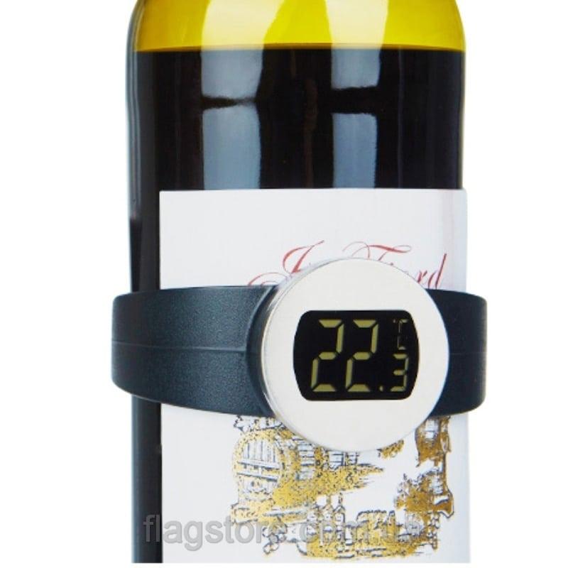 Электронный термометр-браслет для бутылок вина 1