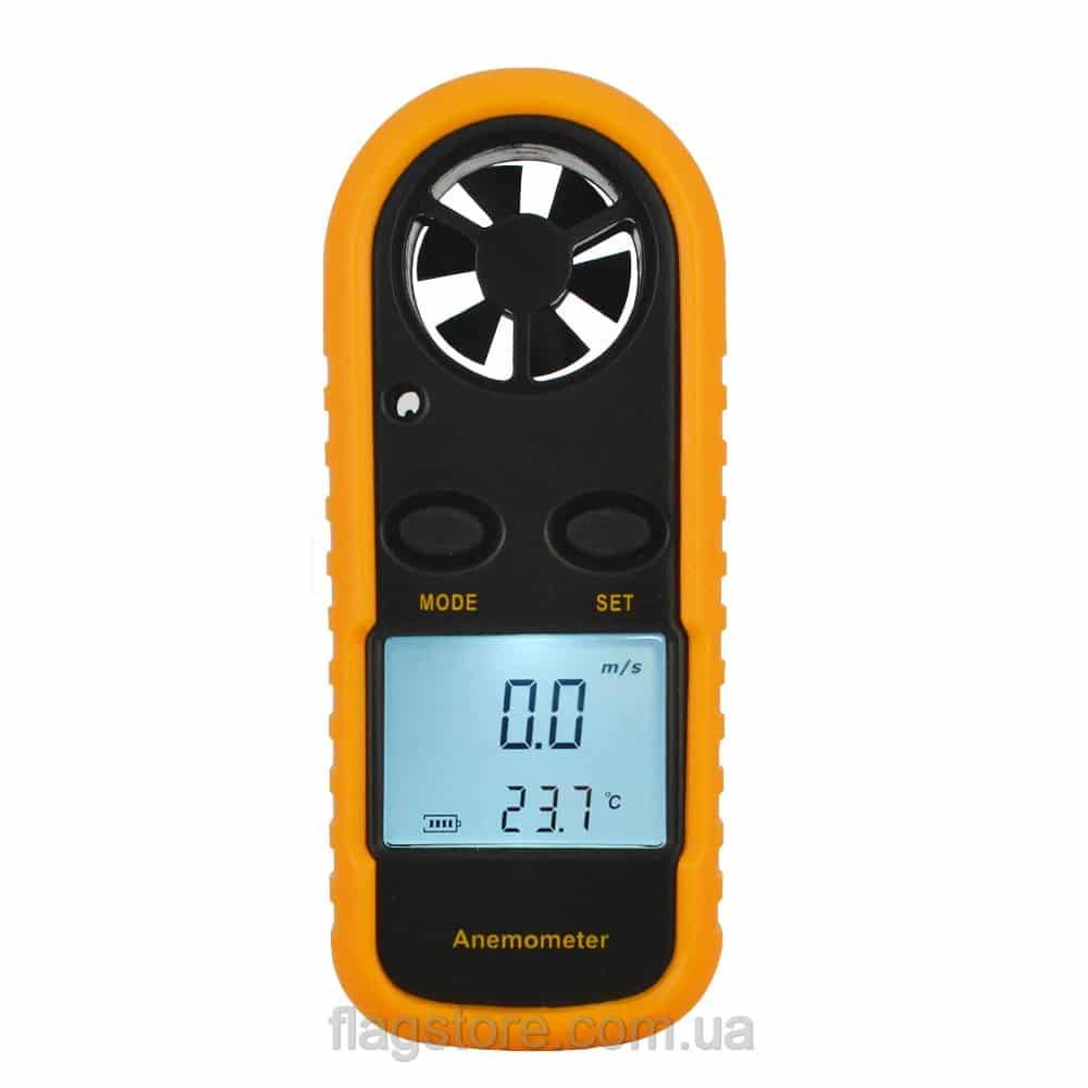 Анемометр (измеритель скорости ветра) от 0 до 30 мс 6
