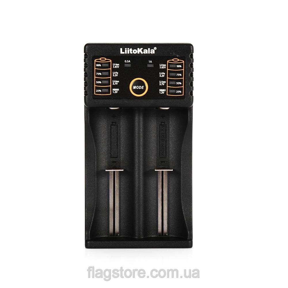 Универсальное зарядное устройство на 2 аккумулятора 3