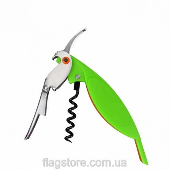 купить нож сомелье в виде попугая