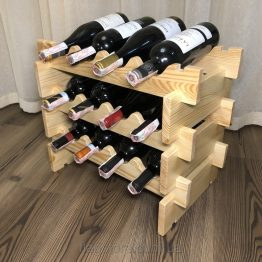 подставка для бутылок из дерева купить