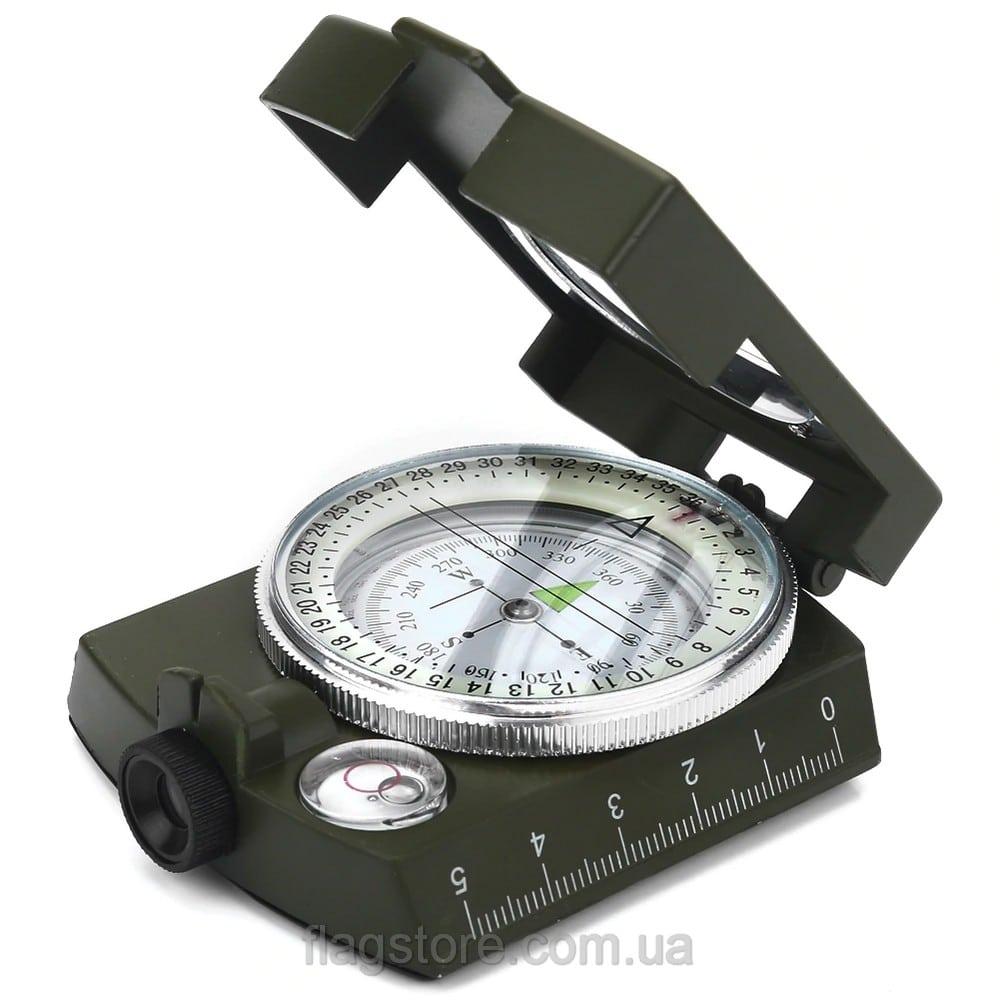 Жидкостный металлический компас 5