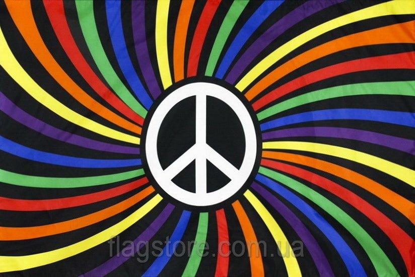 Купить флаг ЛГБТ PEACE