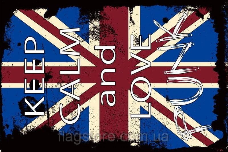 Купить флаг британский панк