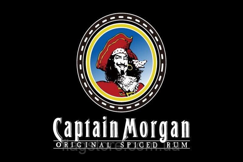 Купить флаг Captain Morgan (ром капитан Морган)
