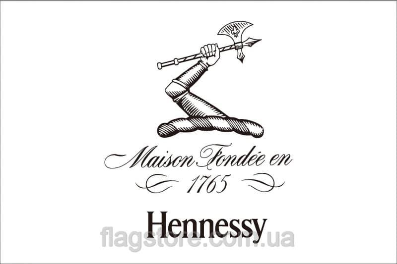 Купить флаг Hennessy (коньяк Хеннесси)