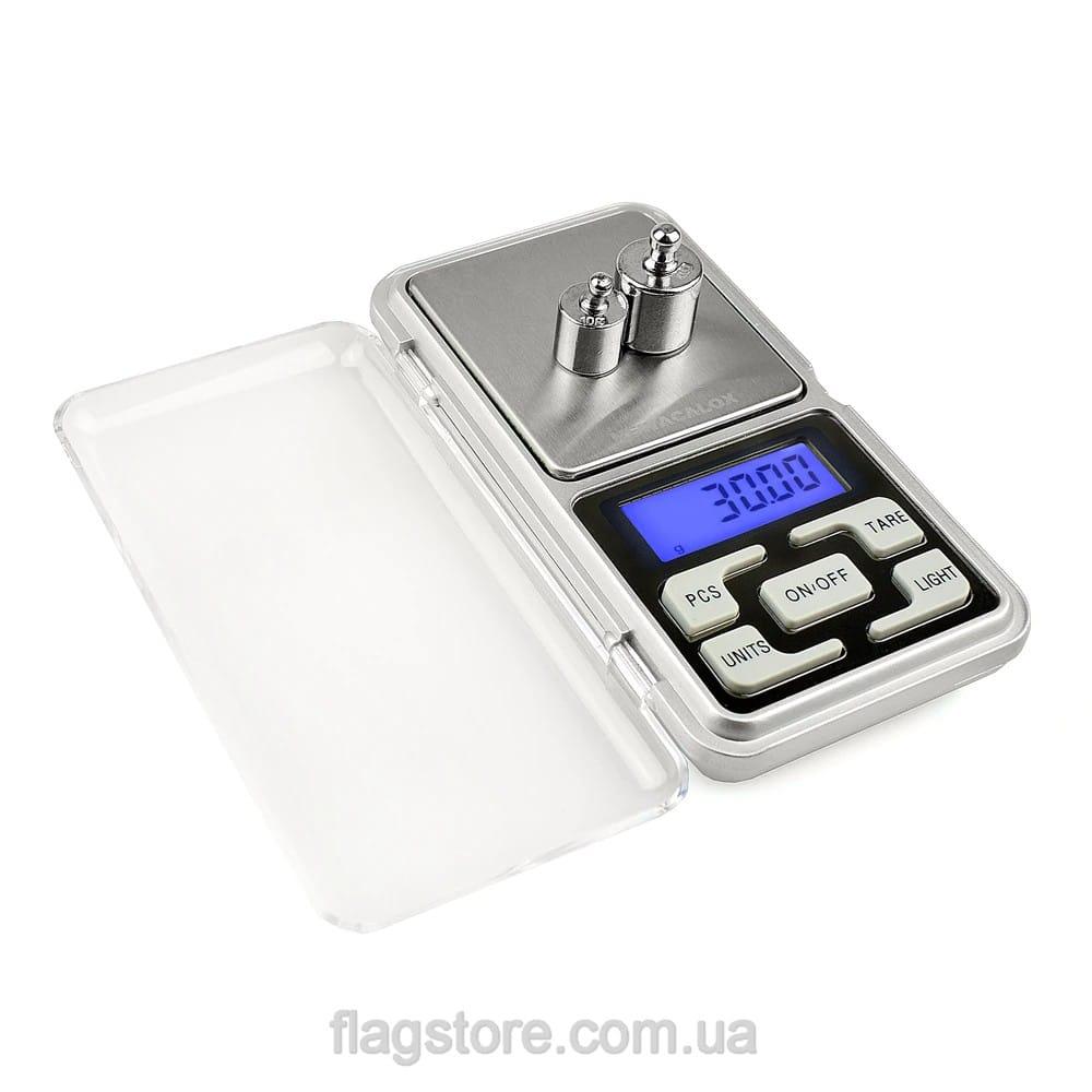 Карманные ювелирные весы до 500 грамм 10