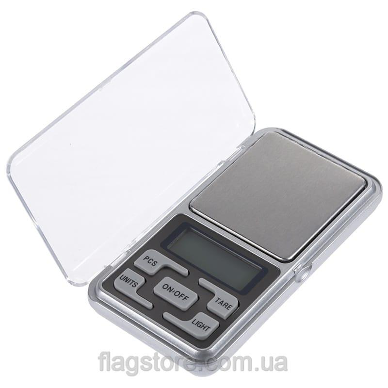 Карманные ювелирные весы до 500 грамм 4