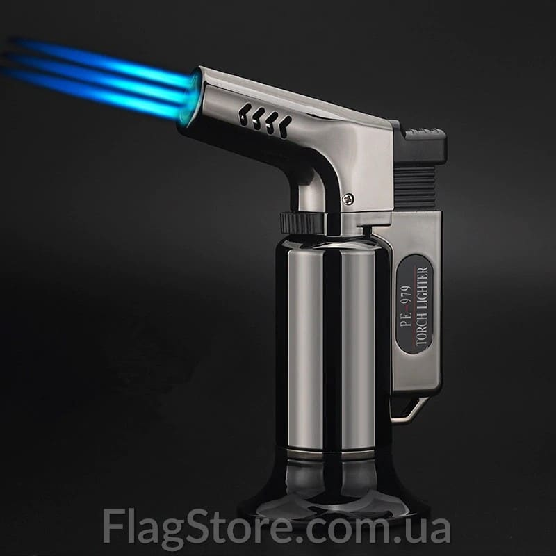 Турбо-зажигалка пистолет тройной автоген 1
