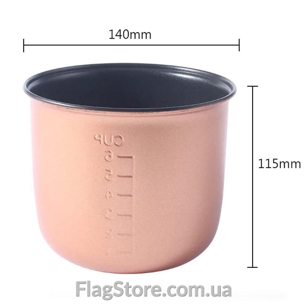 Запасная чаша для автомультиварки 1.6л 1
