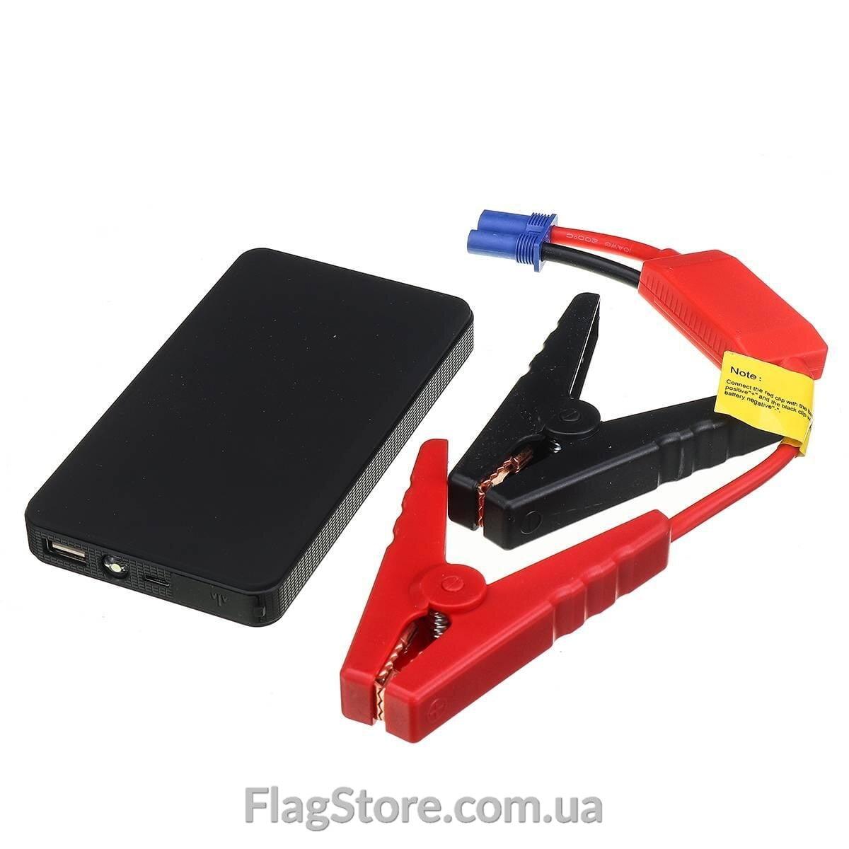 Мобильный аккумулятор-бустер для запуска авто 12в до 2 литров 1