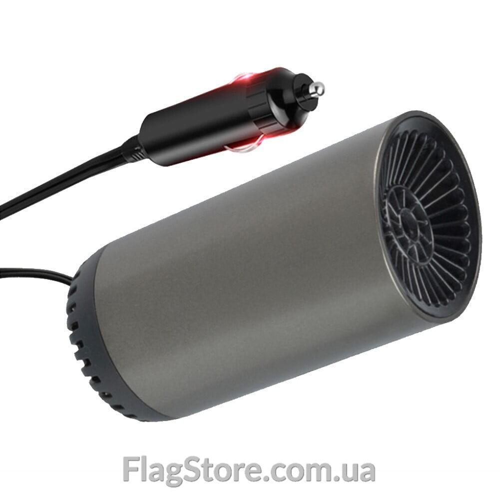 Печка-вентилятор в машину от прикуривателя 12 вольт на присоске 1
