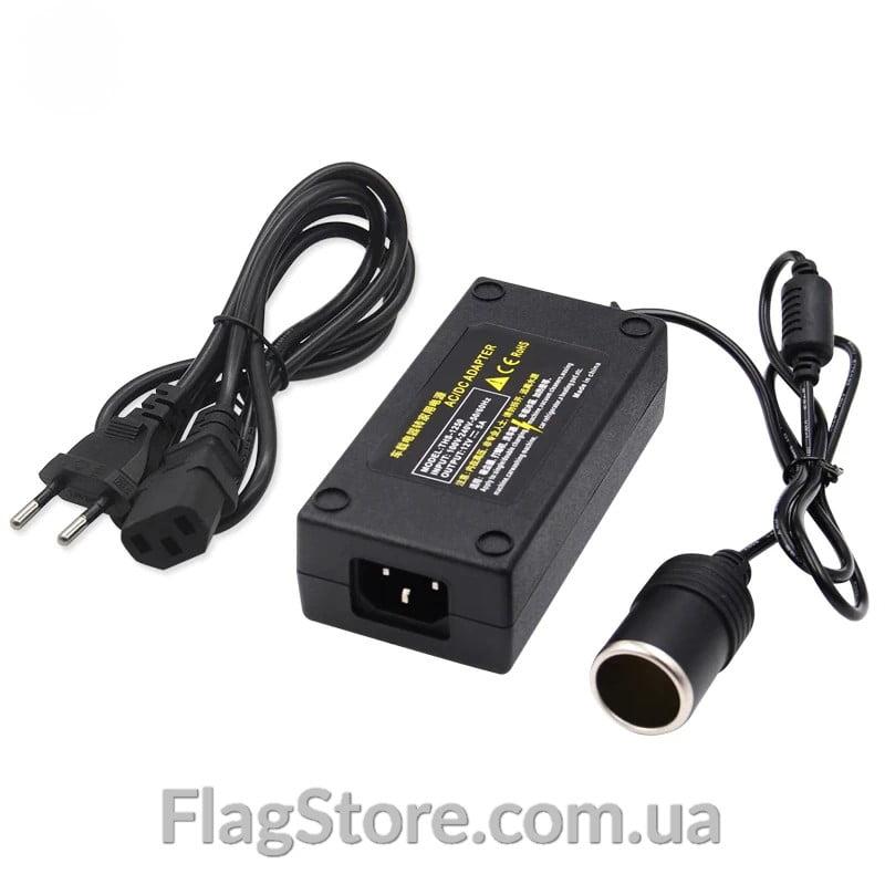 Преобразователь-выпрямитель с 220V на прикуриватель 12V (60W) 3