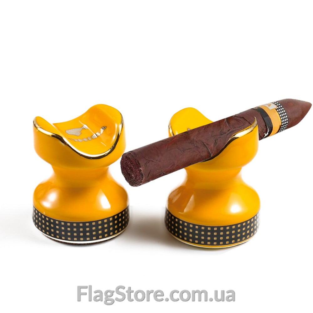 Компактная керамическая подставка для сигар Cohiba 4