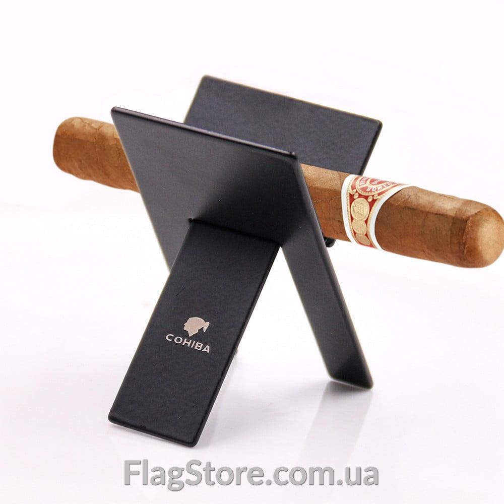 Портативный металлический стенд для сигары Cohiba 3