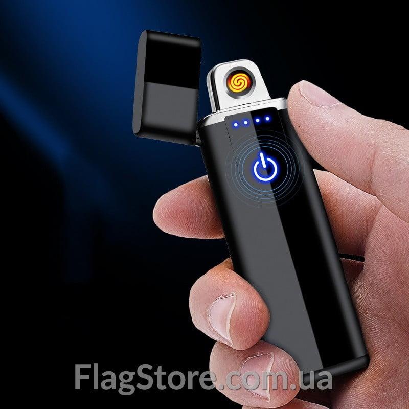 Сенсорная спиральная зажигалка USB 5