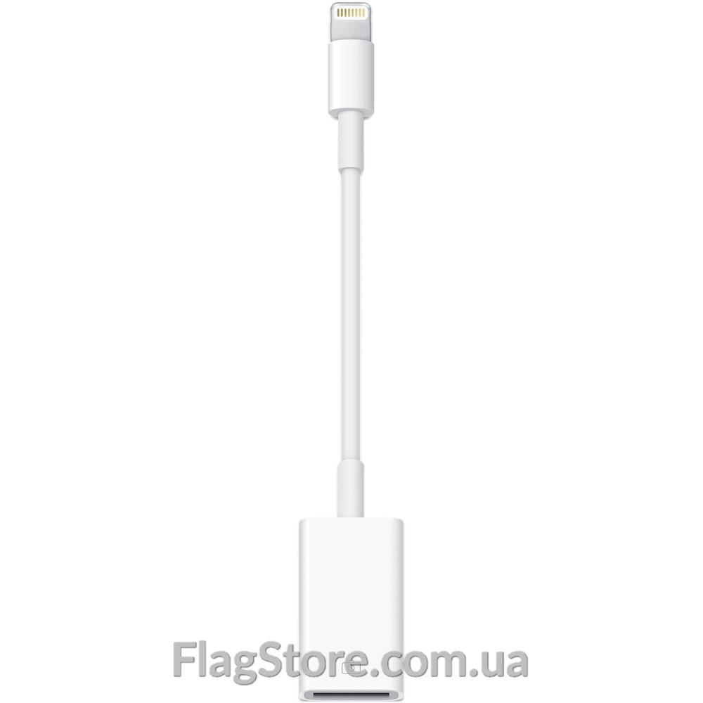 OTG адаптер iOS (с USB на Lightning) 6