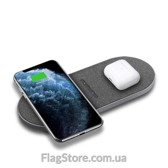 Беспроводная зарядка на 2 смартфона купить