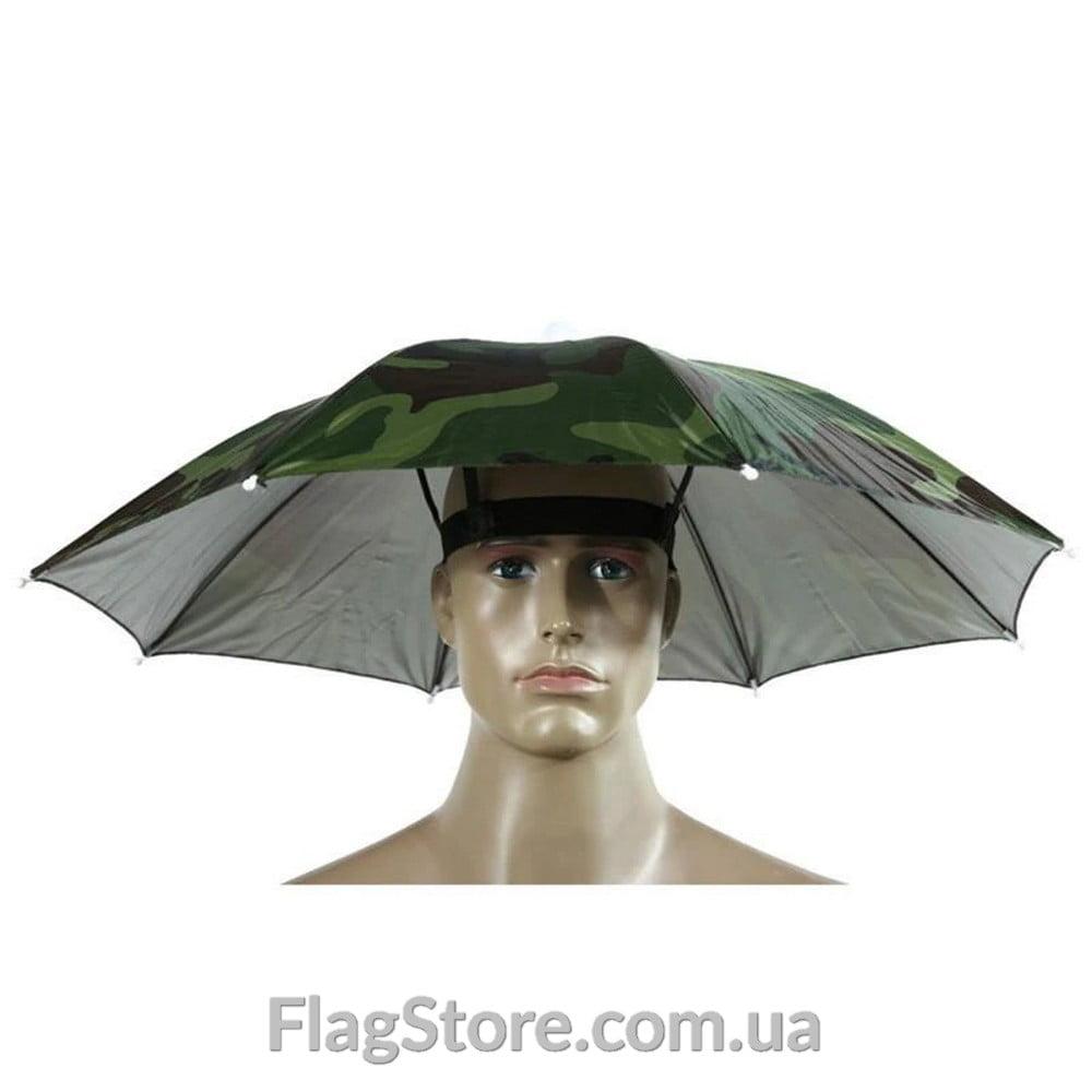 Зонтик на голову 5