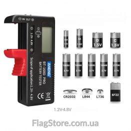 Тестер заряда батареек/аккумуляторов купить
