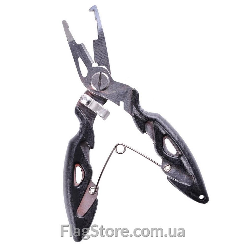 рыбацкие плоскогубцы для извлечения крючков + ножницы для лески 1