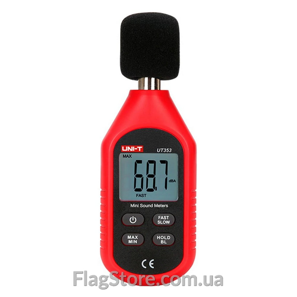 Измеритель уровня звука (шумомер) до 130 дБ 2