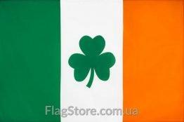 Купити прапор Ірландії з трилисником