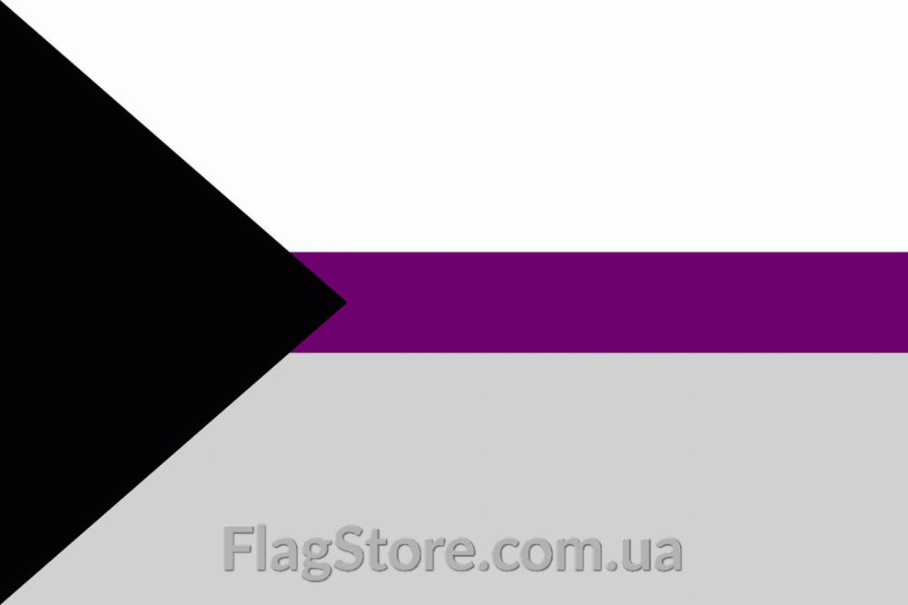 Купить флаг демисексуалов (демисексуальности) 6