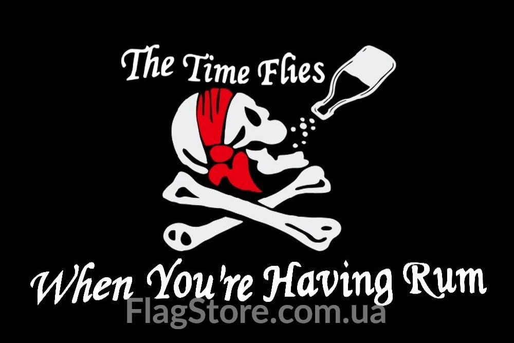 Купить флаг приватиров «Having Rum» 2