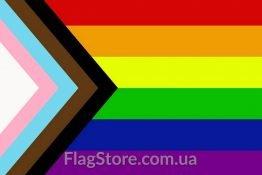 Купити прапор Прогрес Прайд