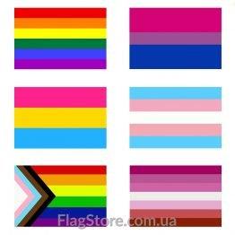 Флаги LGBT сообщества