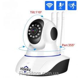 Поворотная смарт Wi-Fi IP-камера наблюдения купить