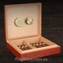 Сигарный ящик с увлажнителем купить