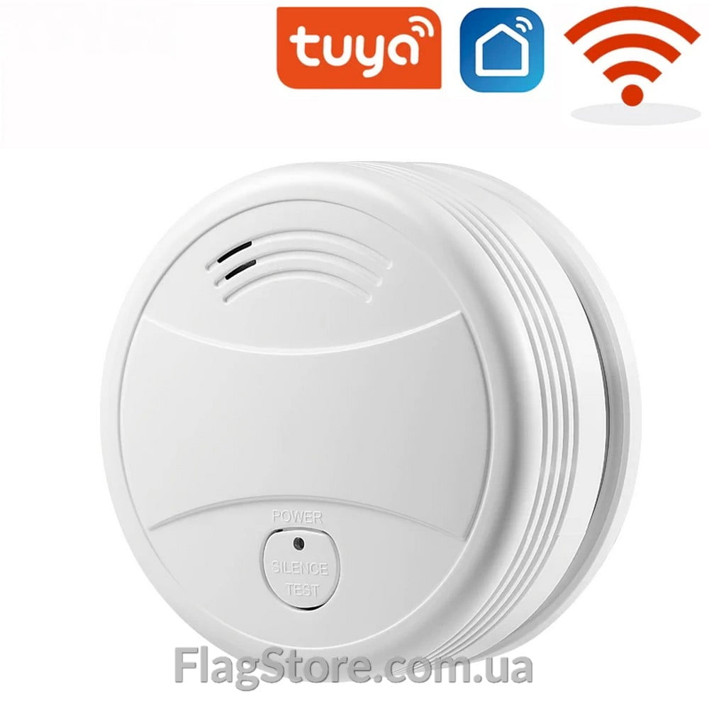 Смарт Wi-Fi датчик дыма 4